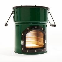 Stove Tec rocket stove with one door