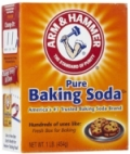 Use baking soda as a substitute for washing soda in he laundry detergent.