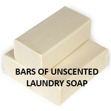 Using Unscented Laundry Soap for HE washers
