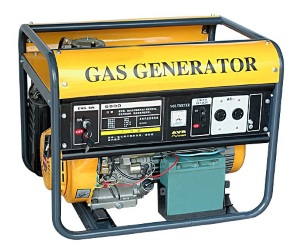 Using a gas single phase 120 volt generator as a battery charger.