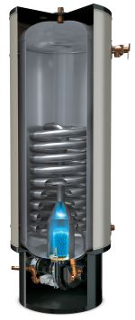 Polaris propane or natural gas hot water heater / boiler.