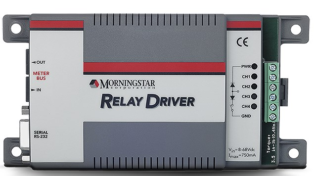 morningstar relay driver is a great unit for building a dump load.